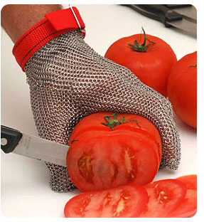 Metal Mesh Cut Gloves By Summit Glove For Total Kitchen Safety